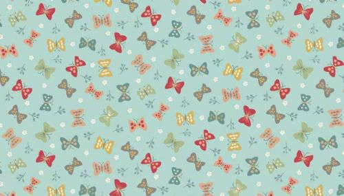 Ellie Butterflies Cotton Fabric Collection Patchwork Quilting
